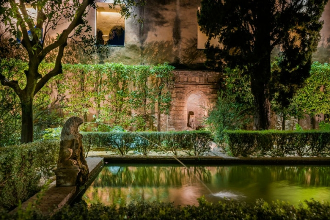 Nights in the Gardens of the Alcazar
