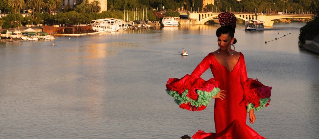 Flamenca in the Guadalquivir river